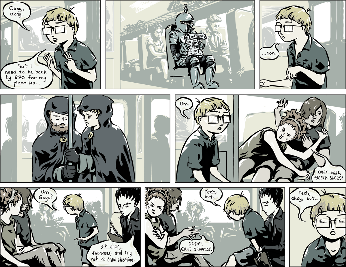 Last Train to Old Town, Chapter One, page 18