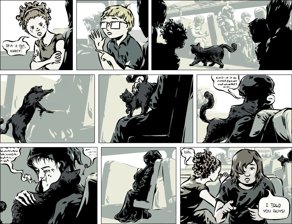 Last Train to Old Town, Chapter One, Page 19 by Kenan Rubenstein